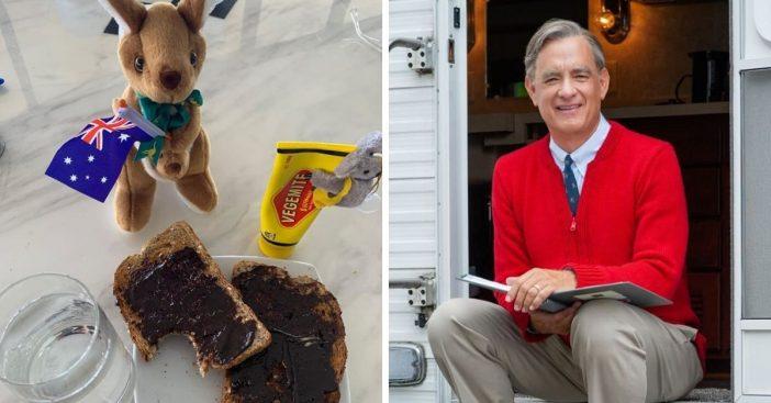 Tom Hanks shares a Mister Rogers themed coronavirus update