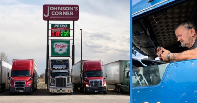 Truckers Brave The Front Lines Of The Coronavirus To Make Sure Others Are Taken Care Of