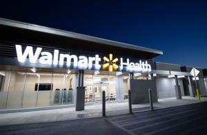 Walmart has already opened two health centers with a third on the way in time to help combat the coronavirus