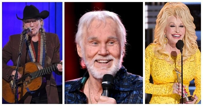 Willie Nelson, Dolly Parton, Kenny Rogers To Be Featured In New A&E Specials