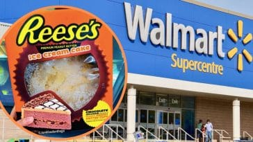 You Can Now Buy A Reese's Ice Cream Cake From Walmart