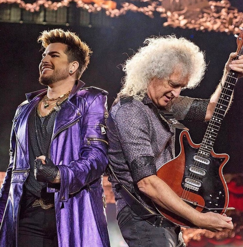 adam lambert brian may queen