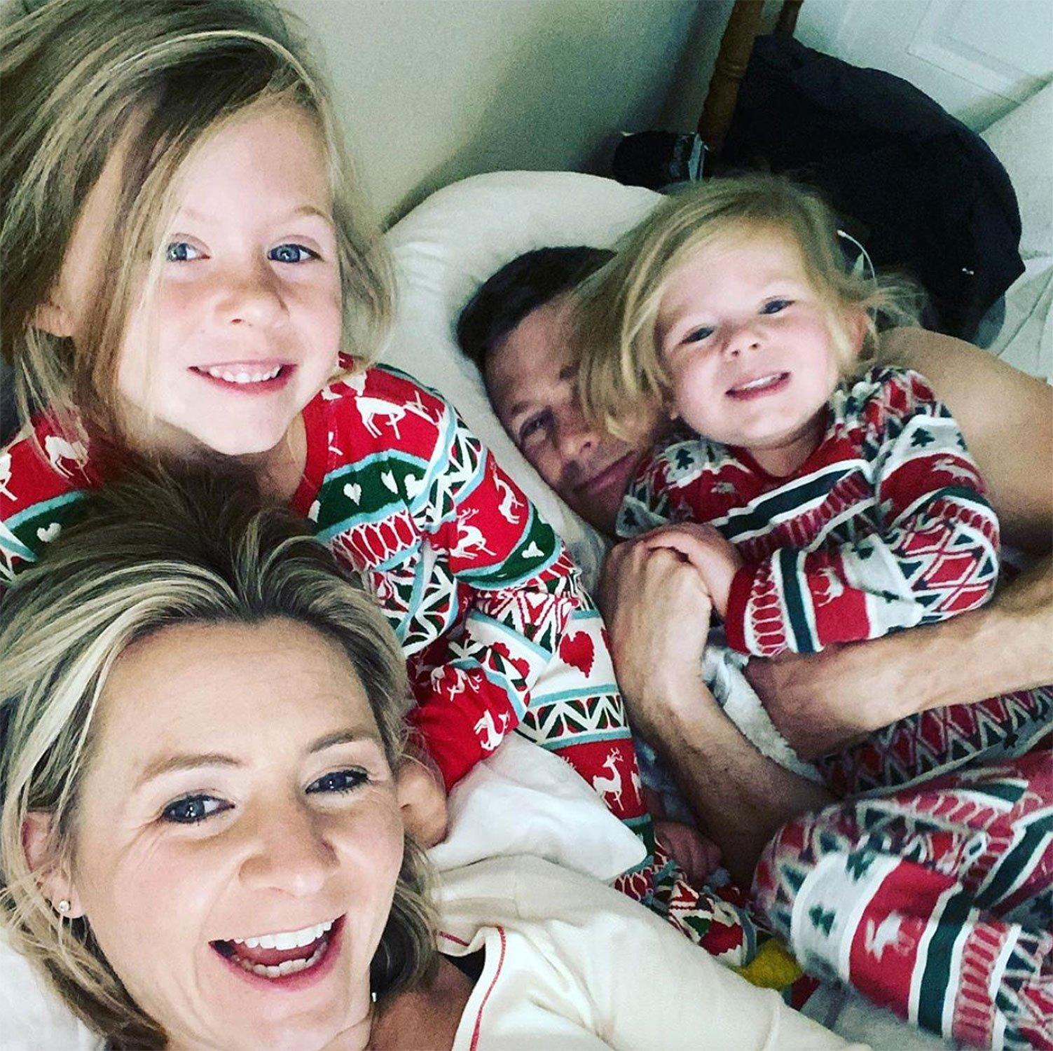 beverley mitchell pregnant third child