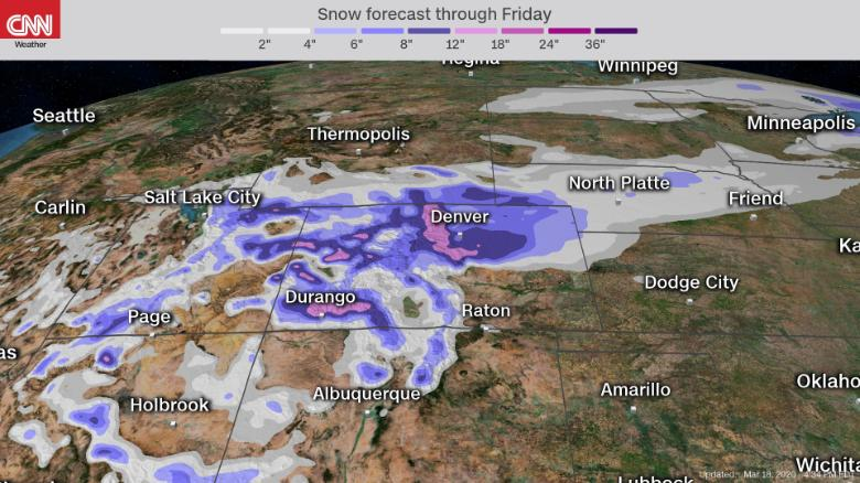 blizzard warnings for first day of spring