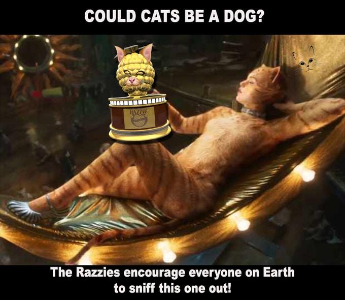 cats movie razzie awards