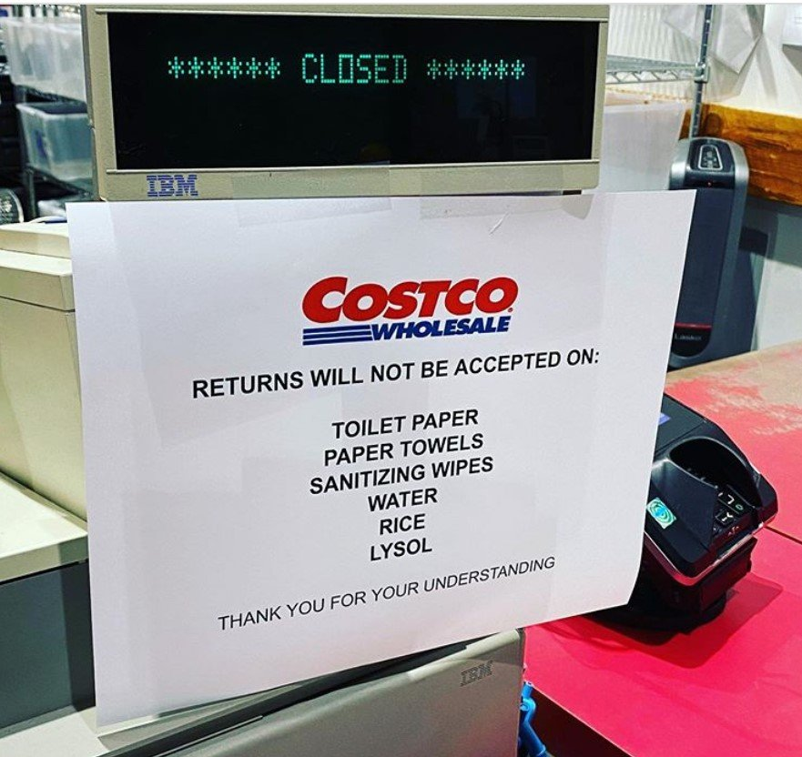 new costco return policy