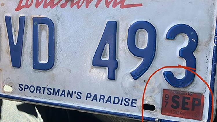 Driver Gets Pulled Over For Expired 1997 License Plate, His Response To Police Is Hilarious