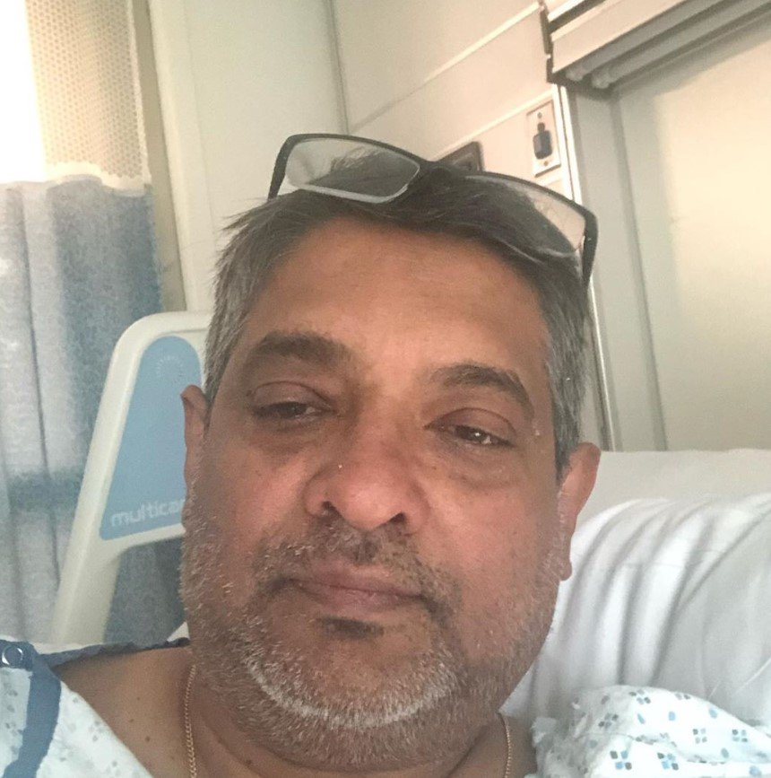 chef floyd cardoz in the hospital with coronavirus