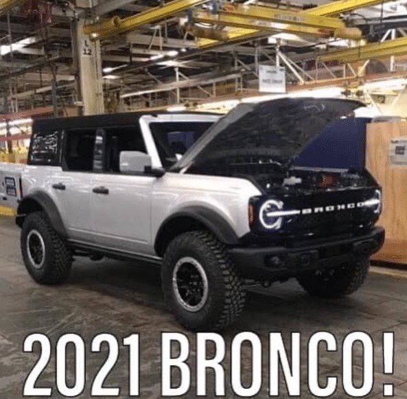 2021 Ford Bronco Photos Leaked