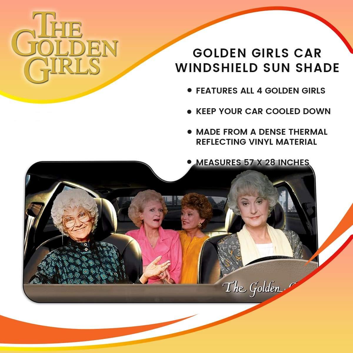 the golden girls windshield sun shade details