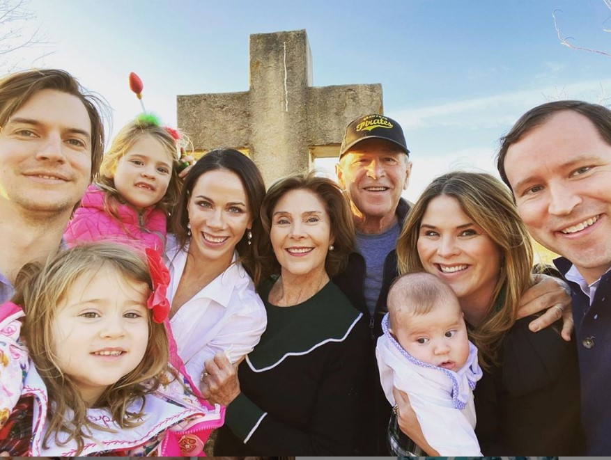jenna bush hager family photo