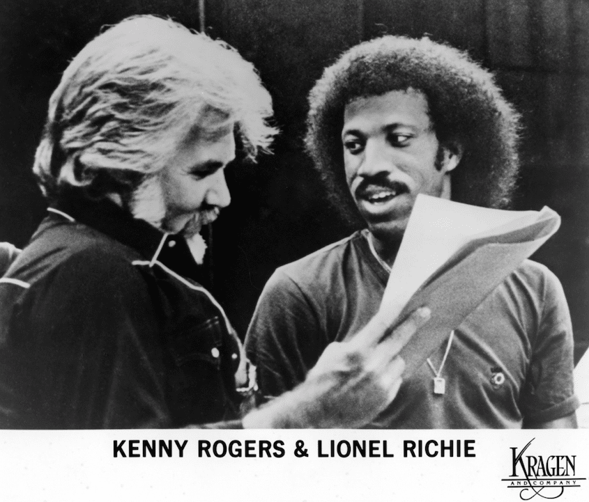 how lionel richie and kenny rogers became best friends
