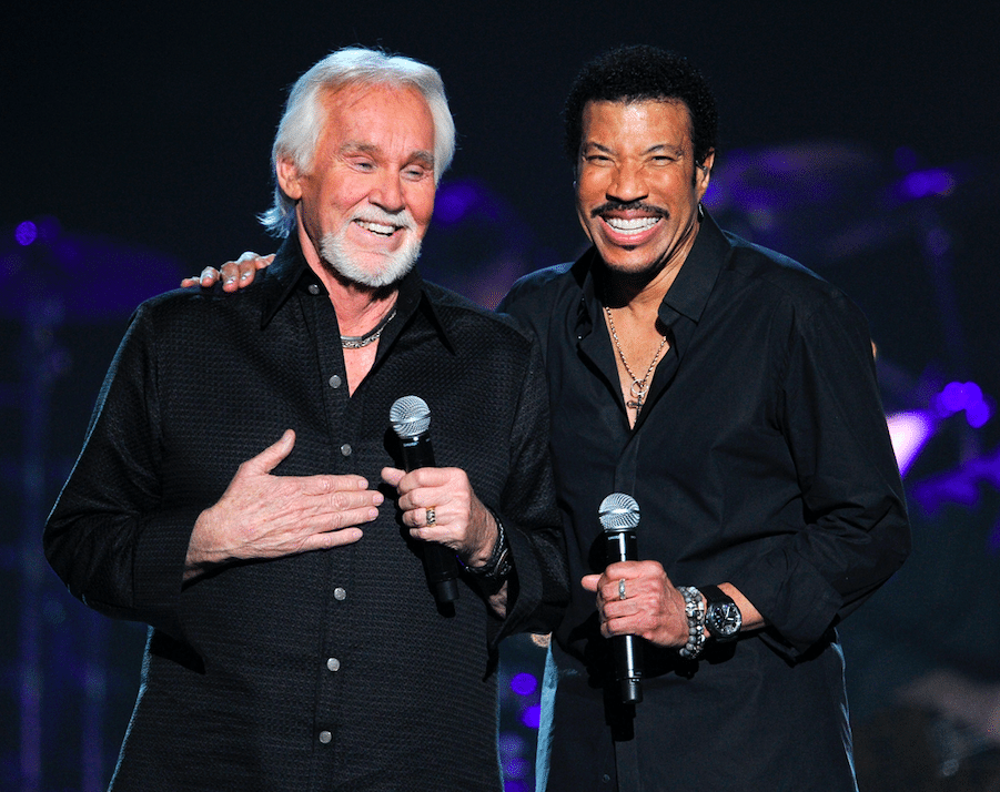 how kenny rogers and lionel richie became best friends