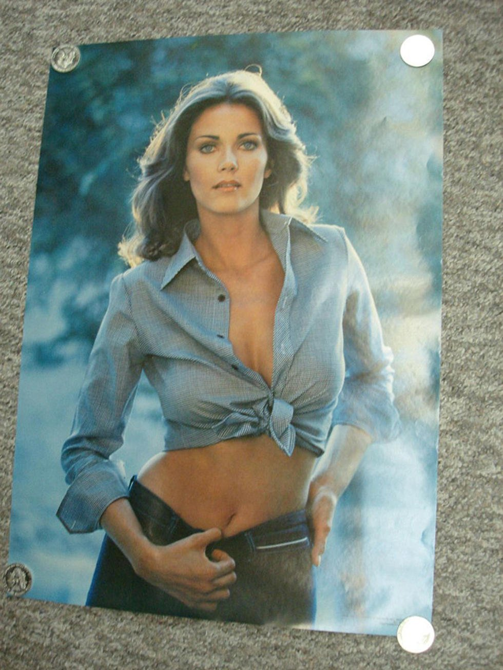 hottest posters of 70s and 80s