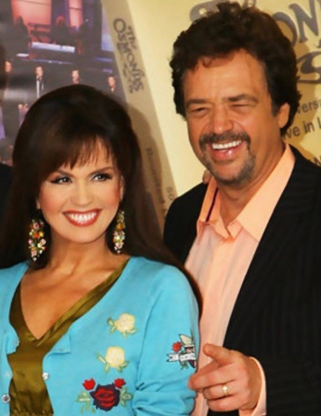 marie osmond and brother jay