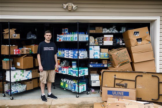 brothers hoard 17,000+ hand sanitizers donate to charity