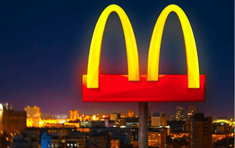 mcdonald's separated arches in brazil coronavirus