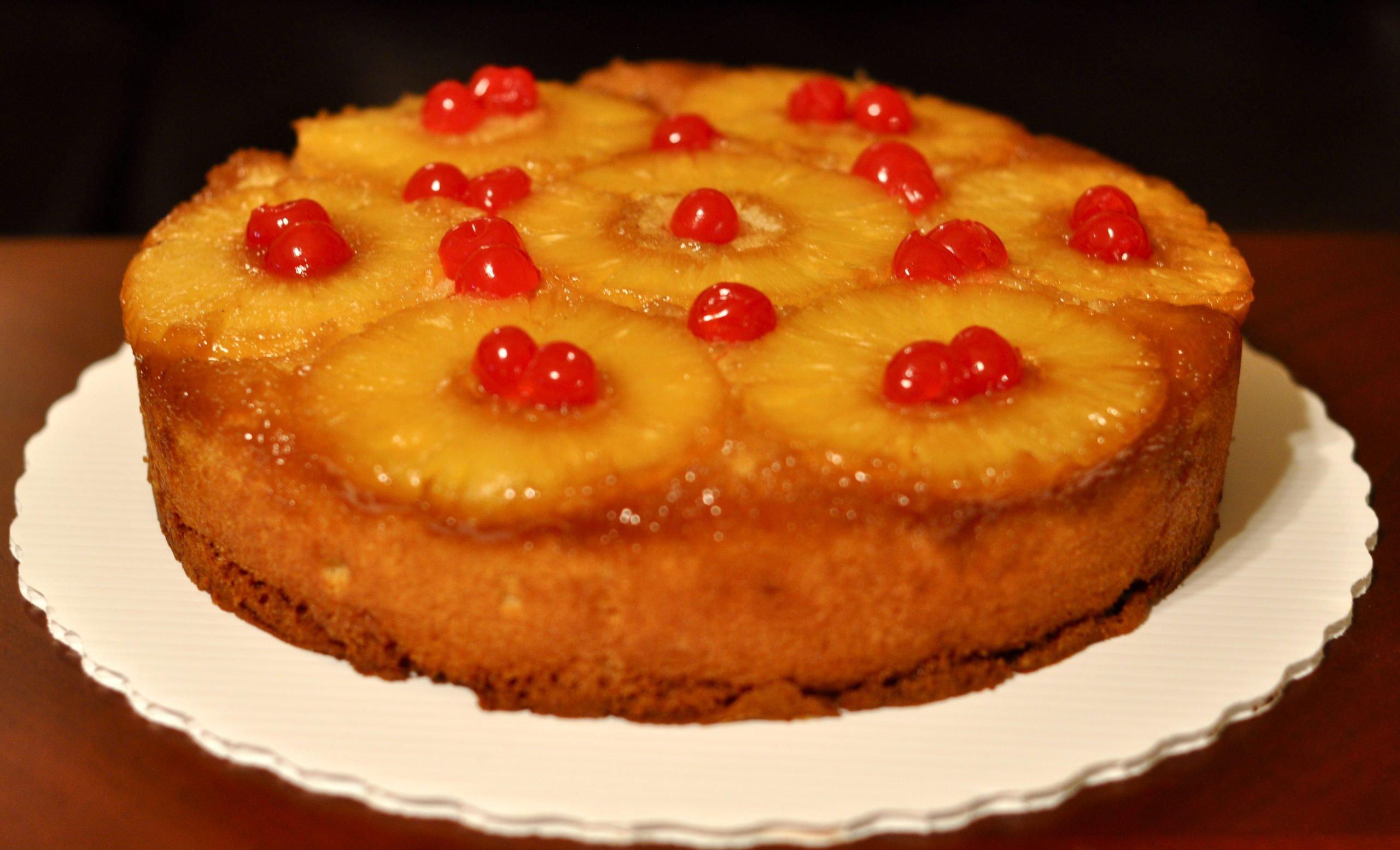 pineapple upside down cake recipes