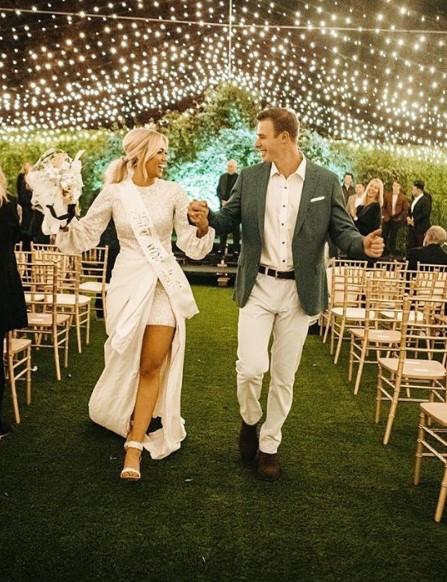 sadie robertson christian huff wedding festivities