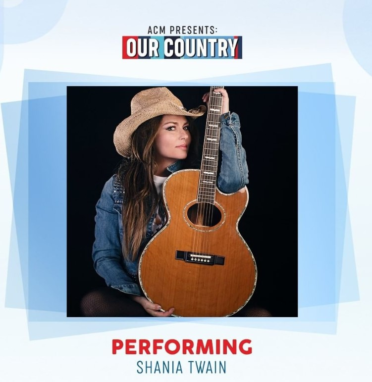 acm presents our country shania twain