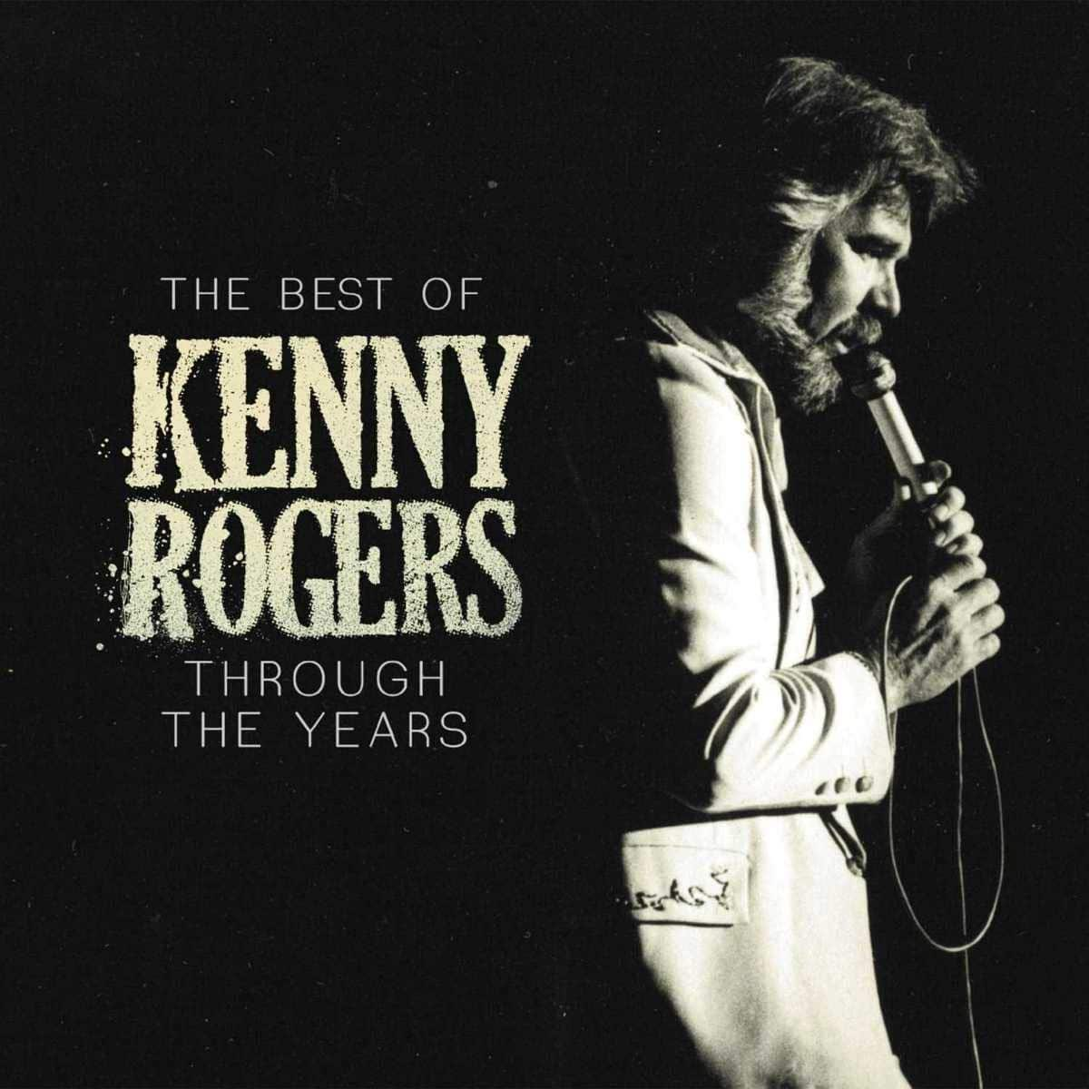 kenny rogers is number 1 on the country charts