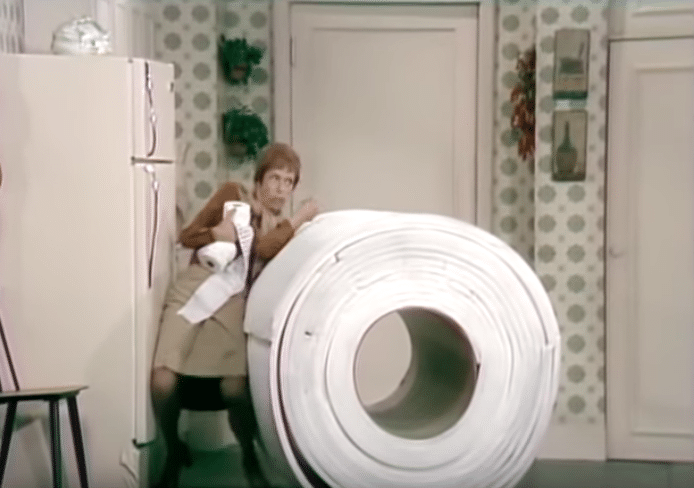 toilet tissue sketch carol burnett show