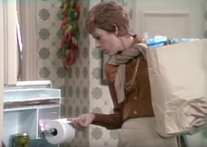 toilet tissue sketch the carol burnett show