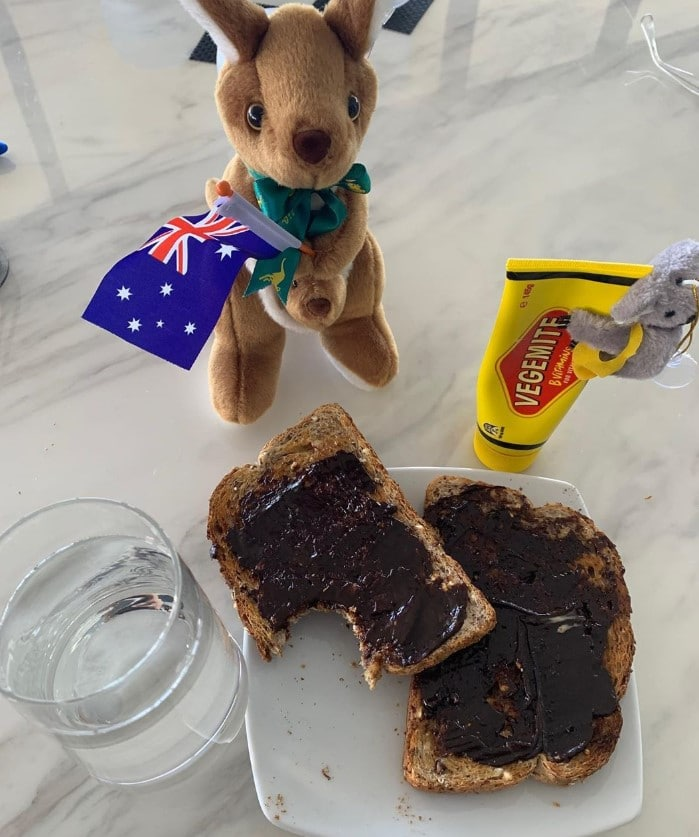 tom hanks vegemite post