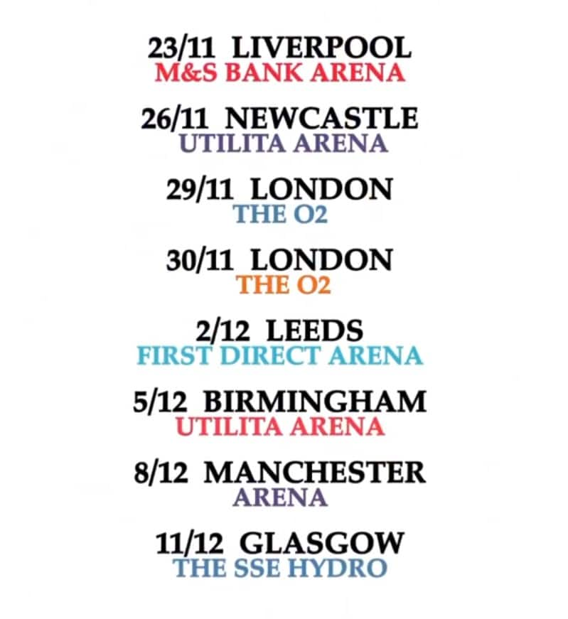 genesis tour dates