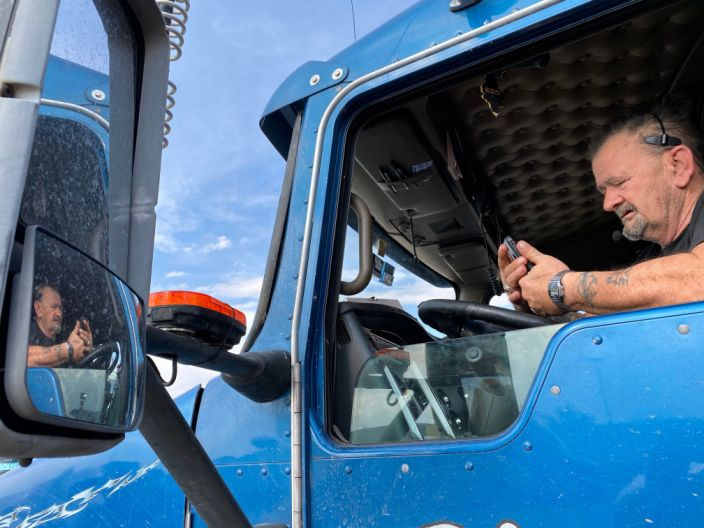 truckers brave the front lines during coronavirus