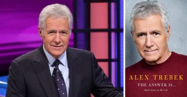 Alex Trebek wrote a memoir book