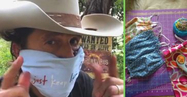 Check out Bobby Bandito's face mask tutorial to be safe while looking awesome