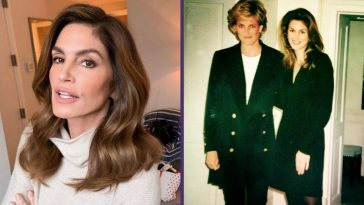 Cindy Crawford Recalls Feeling _So Intimidated_ When She First Met Princess Diana