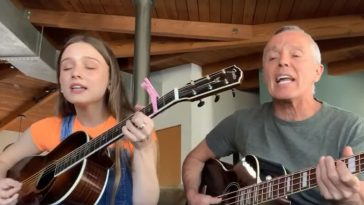 Curt Smith Of 'Tears For Fears' Performs _Mad World_ With His Daughter