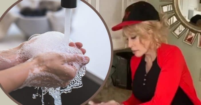 Dolly Parton Sings New Version Of _Jolene_ While Washing Hands