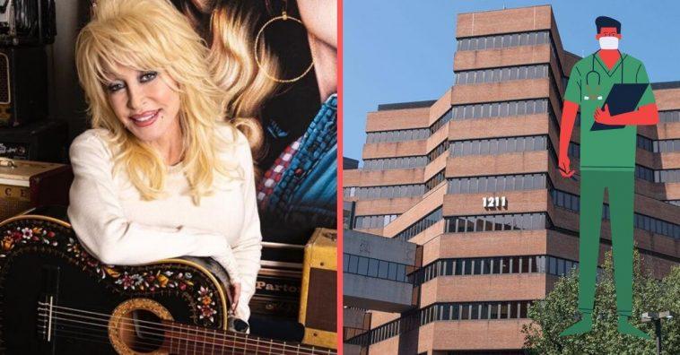 Dolly Parton donating 1 million dollars to coronavirus research