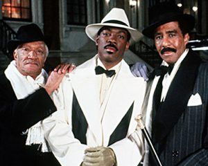 Eddie Murphy and Redd Foxx worked together for Harlem Nights