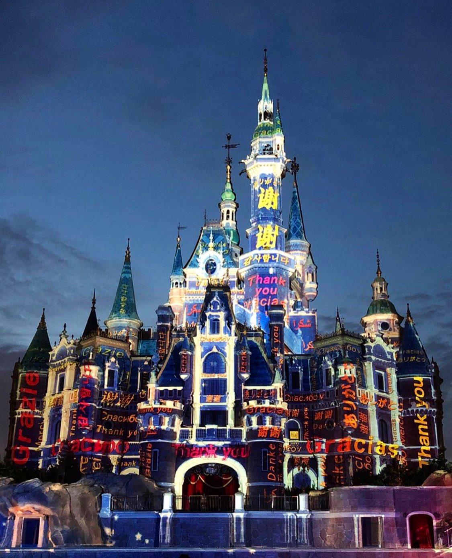 shanghai enchanted storybook castle disney