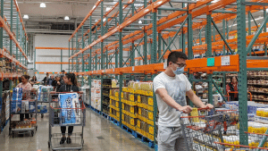 Guests, members, and employees must wear a face mask or covering if they want to shop at Costco starting on May 4