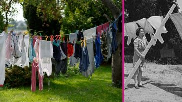 How to hang laundry on a clothespin like your grandma used to