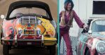 Janis Joplin's car has a history as wild as its paint job