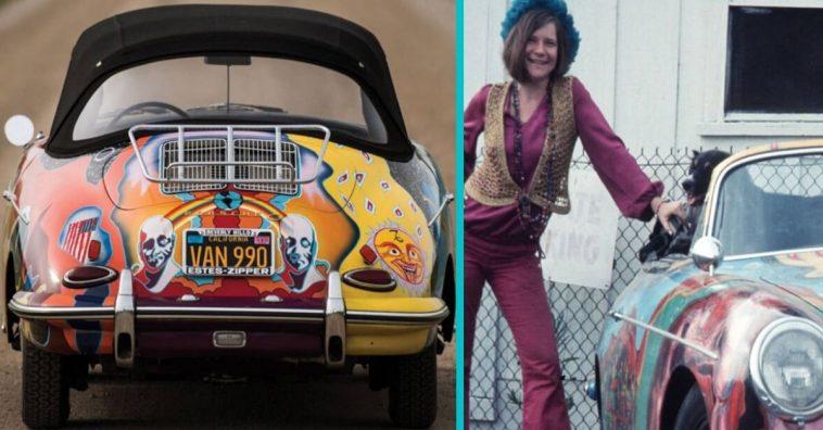 Janis Joplin's car has a history as wild as its paint job