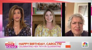 Jenna Bush Hager and Hoda Kotb helped make one woman's birthday brighter