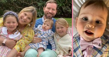 Jenna Bush Hager shares photos of her family on Easter