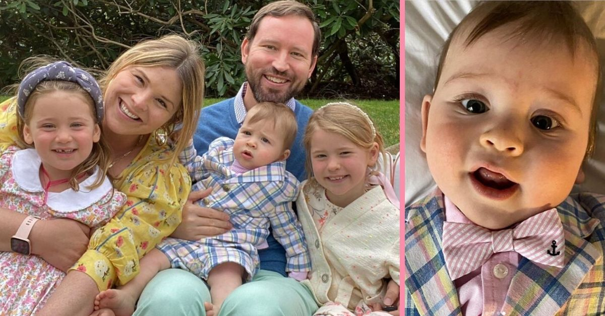 Jenna Bush Hager Shares Photos Of Baby Hal's First Easter