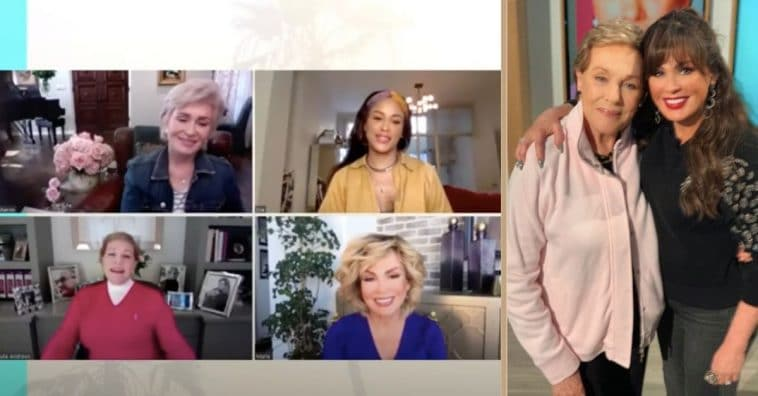 Julie Andrews Appears Alongside Marie Osmond On 'The Talk' With A Special Message