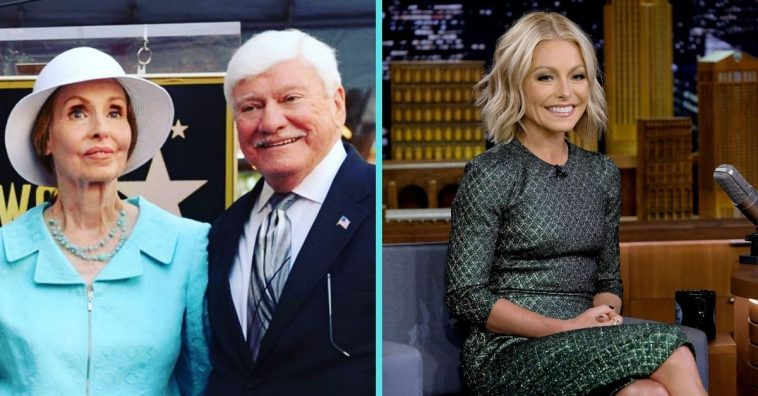 Kelly Ripa sent her parents an adorable message celebrating their love
