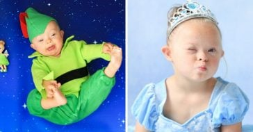 Kids With Down Syndrome Pose As Their Favorite Disney Characters