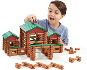 Kids could learn and have fun with Lincoln Logs