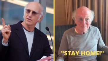 Actor Larry David, best known for 'Curb Your Enthusiasm' has created a PSA that urges people to stay at home during the coronavirus outbreak.